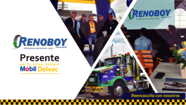 RENOBOY PRESENTE EN EL GRAN PREMIO MOBIL DELVAC 2019