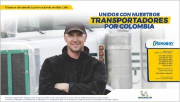 UNIDOS CON NUESTROS TRANSPORTADORES POR COLOMBIA