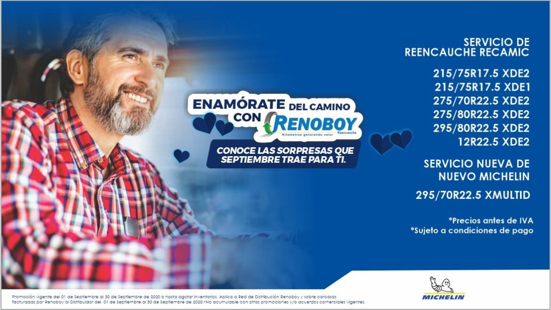 ENAMÓRATE DEL CAMINO CON RENOBOY